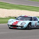 Goodwood Revival Ford GT 40  by Andy Green