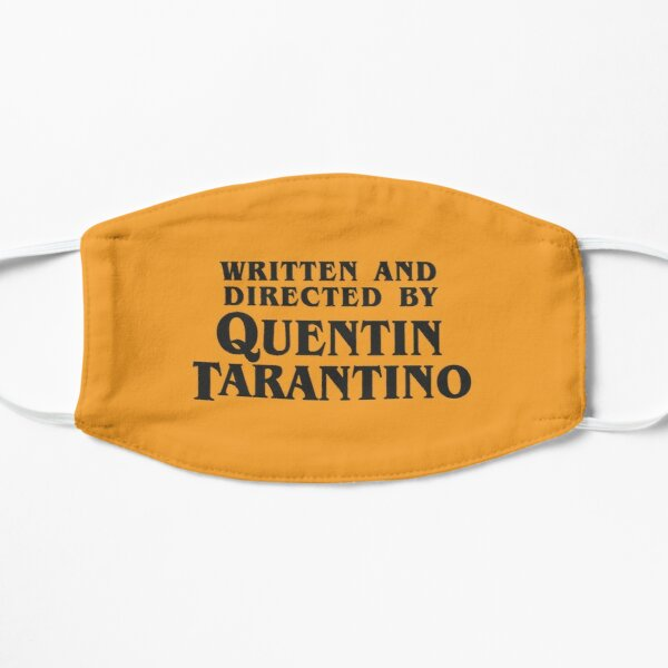 Written and Directed by Quentin Tarantino Flat Mask