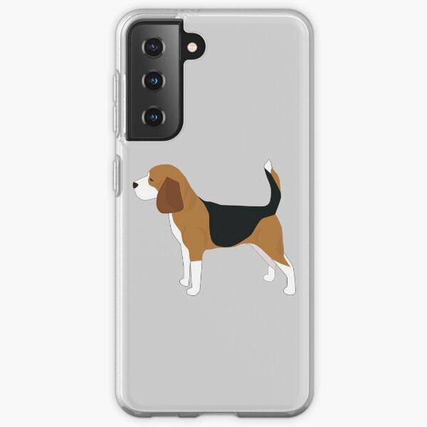 Beagle Funda blanda para Samsung Galaxy