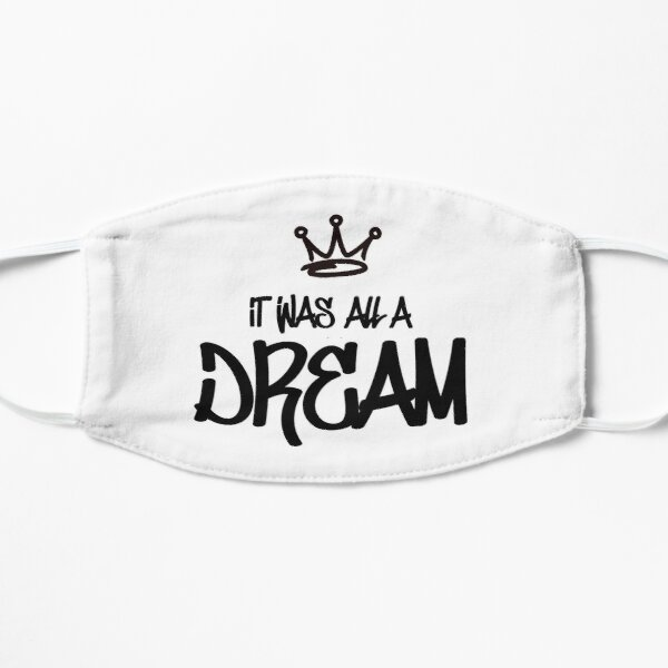 Biggie Smalls - It Was All A Dream Flat Mask
