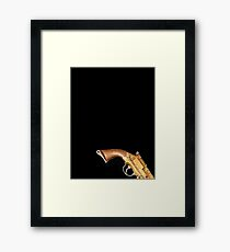 Firefly Cosplay 111 with shadows Framed Print