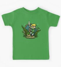 Zelda Wind Waker Forbidden Woods Temple Kids T-Shirt