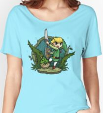Zelda Wind Waker Forbidden Woods Temple Women's Relaxed Fit T-Shirt