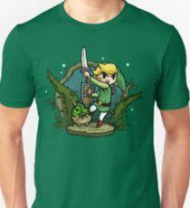 Camiseta ajustada Zelda Wind Waker Forbidden Woods Temple