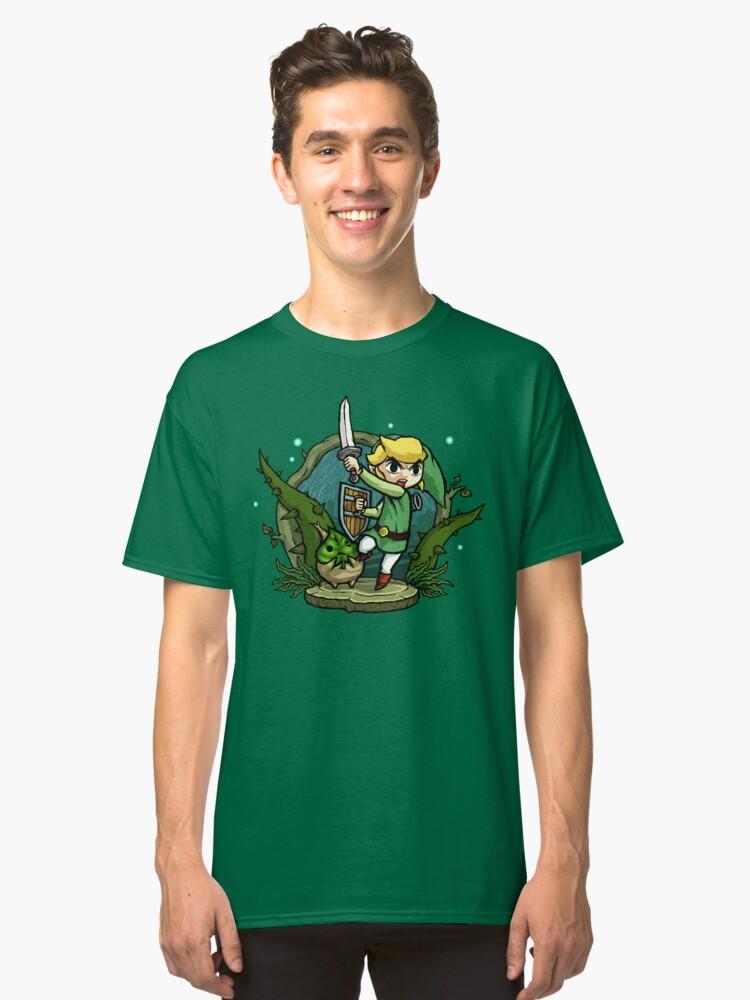 Zelda Wind Waker Forbidden Woods Temple Classic T-Shirt Front