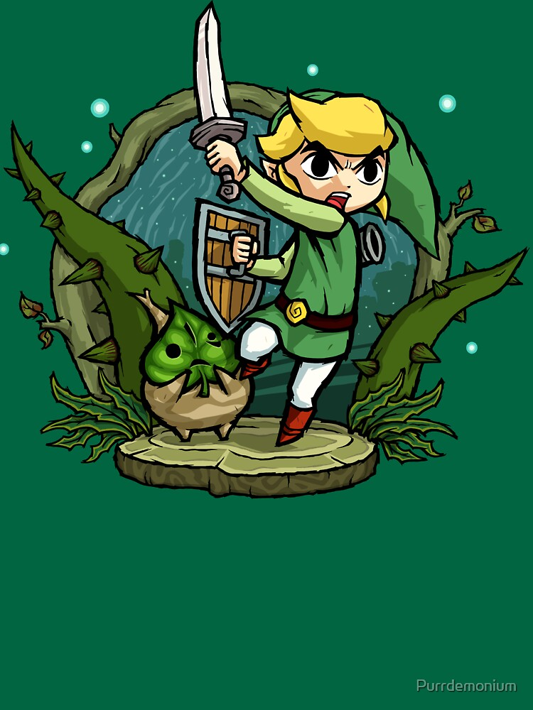 TShirtGifter presents: Zelda Wind Waker Forbidden Woods Temple | Unisex T-Shirt