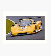 Motorcar Racing. Art Print