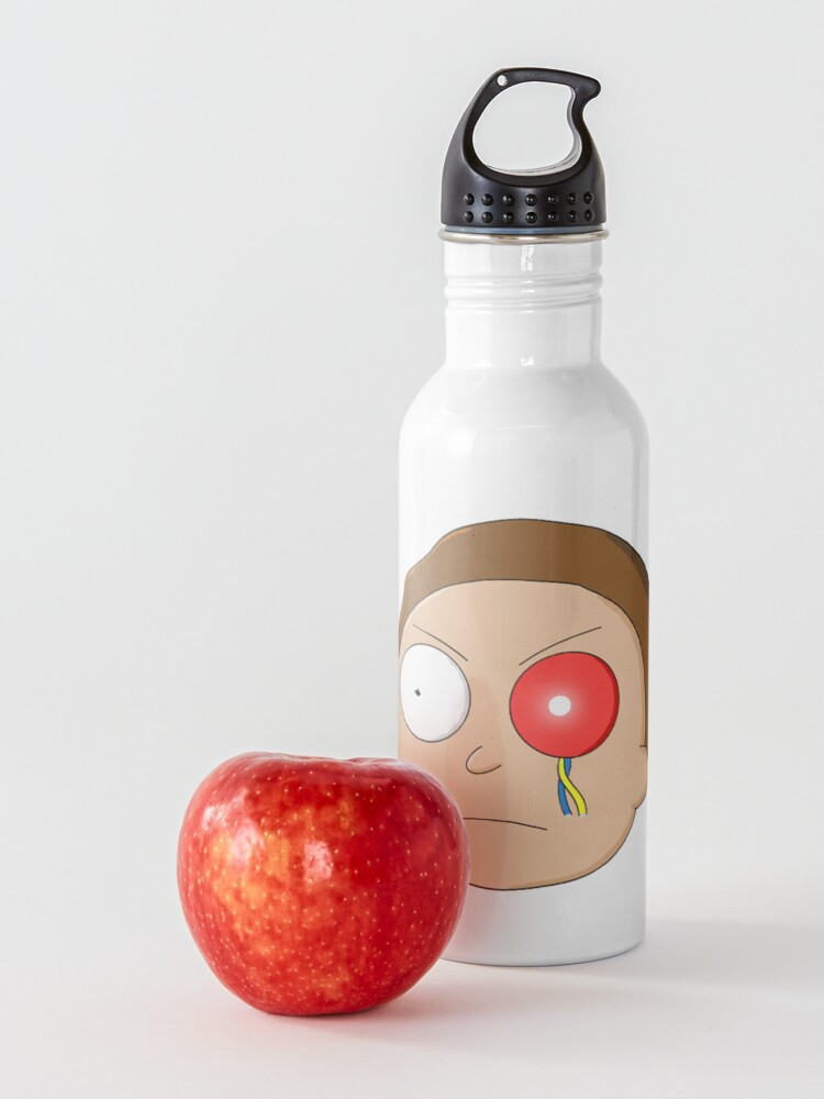 Alternate view of Evil Morty - Rick and Morty Water Bottle