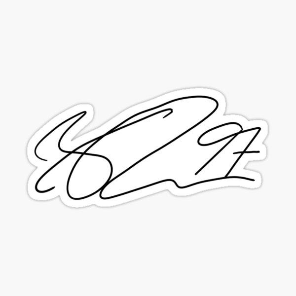 Connor McDavid signature Sticker