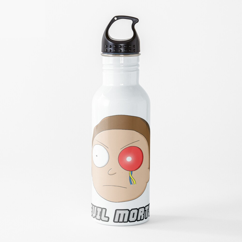 Evil Morty - Rick and Morty Water Bottle