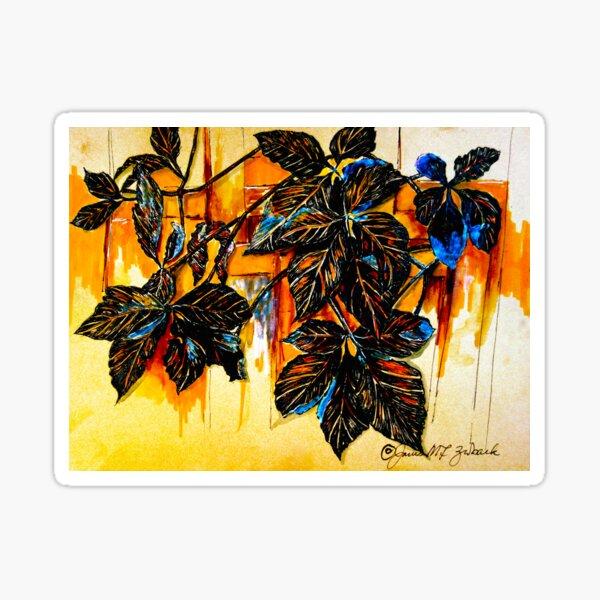 Autumn Vines Sticker