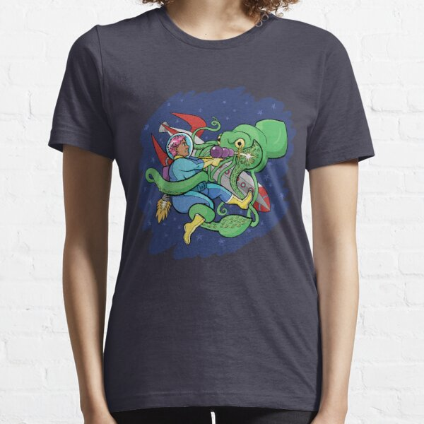 Sincerity vs. the Space Squid (textless version) Essential T-Shirt