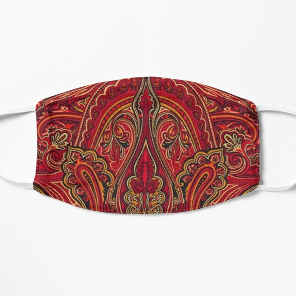 arabesque art Flat Mask