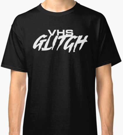 VHS Glitch - Light Edition Classic T-Shirt