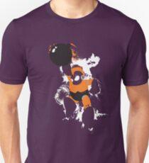 Bomb Man Explosive Splatter Design Unisex T-Shirt