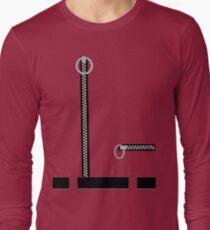 Captain Scarlet Blue Grey WHATEVER Long Sleeve T-Shirt