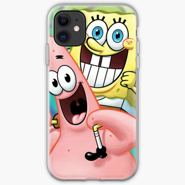 Bob and Patrick best friends pt.2 iPhone Soft Case