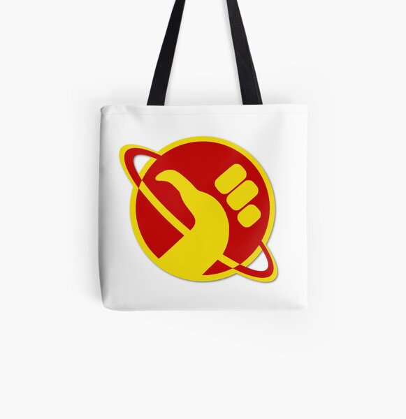 The Galactic Hitchhhiker All Over Print Tote Bag