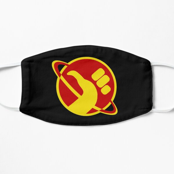 The Galactic Hitchhhiker Flat Mask