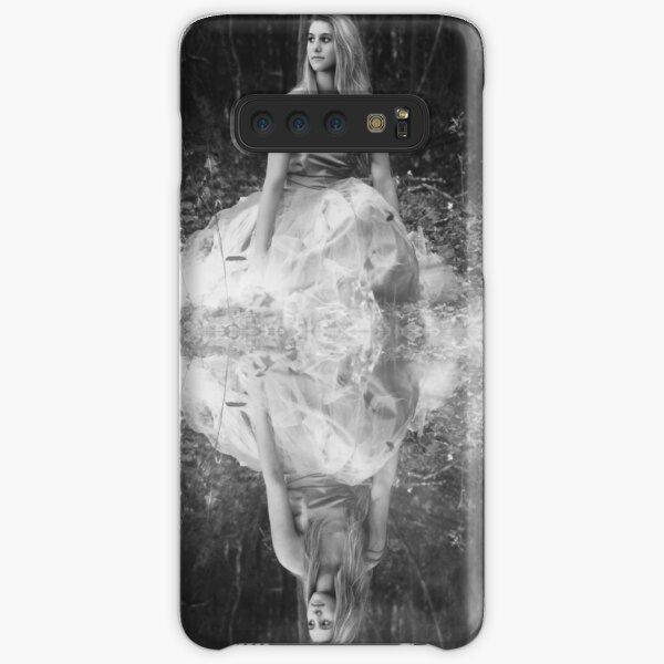 B&W Girl & Reflection Samsung Galaxy Snap Case