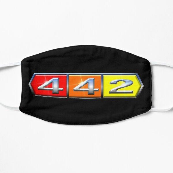 442 Chrome Flat Mask
