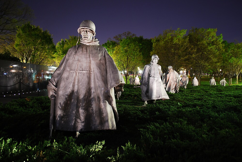 Korean War Memorial by Pschtyckque