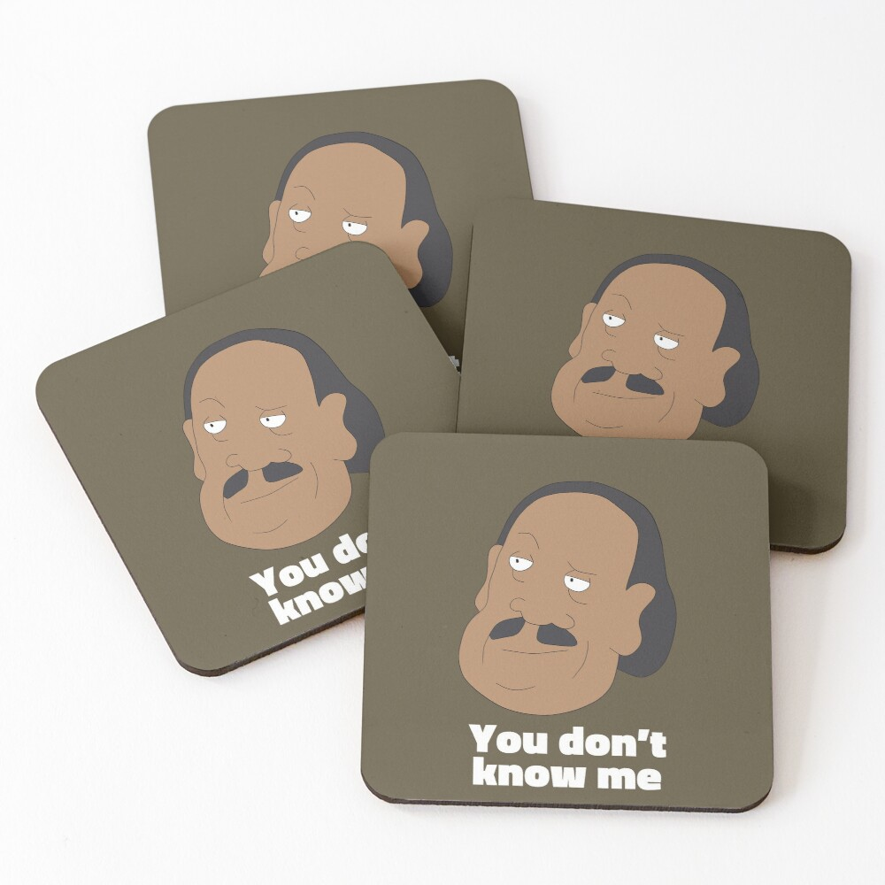 Mr.Goldenfold - Rick and Morty Coasters (Set of 4)