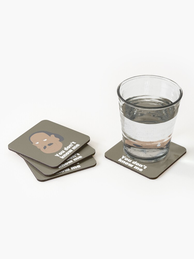 Alternate view of Mr.Goldenfold - Rick and Morty Coasters (Set of 4)