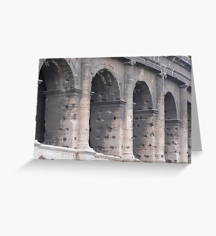Colosseum, Rome (March 2012) Greeting Card