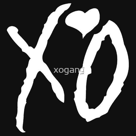 TShirtGifter presents: The Weeknd - XO Logo (White)