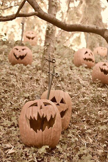 Jack O'Lanterns by Pschtyckque