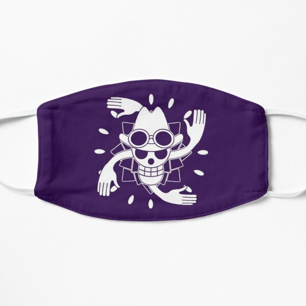 Nico Robin Jolly Roger 2 Flat Mask