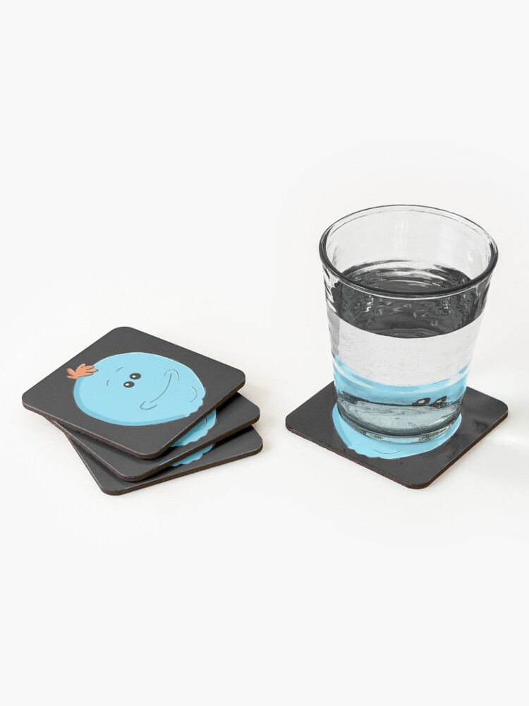 Alternate view of Mr. Meeseeks - Rick and Morty Coasters (Set of 4)