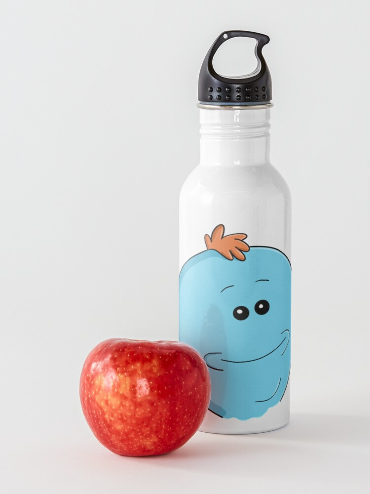 Alternate view of Mr. Meeseeks - Rick and Morty Water Bottle
