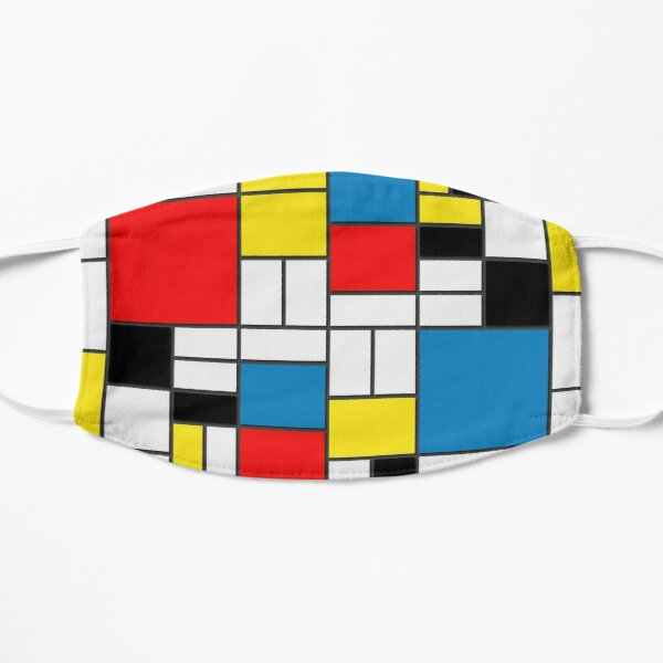 Mondrian Painting Mask