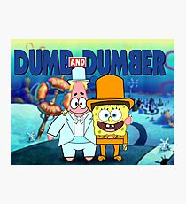 Dumb and Dumber Photographic Print