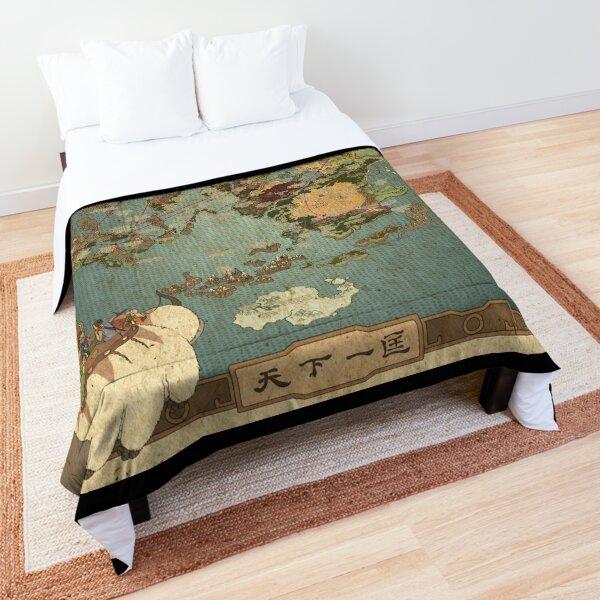 Avatar the last air bender map Comforter