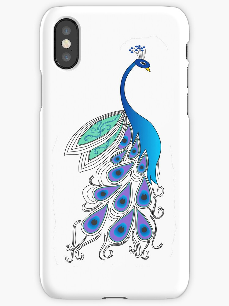Bold Peacock by arline wagner