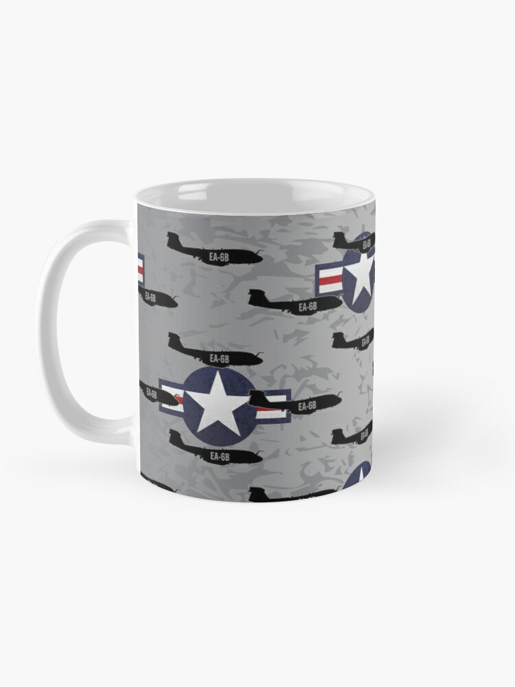 Alternate view of EA-6B Prowler Military Airplane Mug