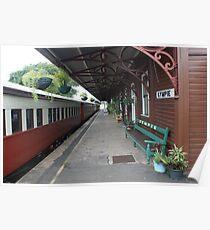 Gympie historical train station, Queensland, Australia Poster