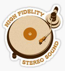 'High Fidelity' Sticker