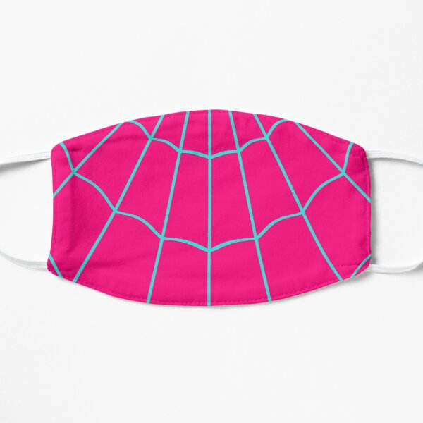 Spider Web - Turquoise / Pink Mask