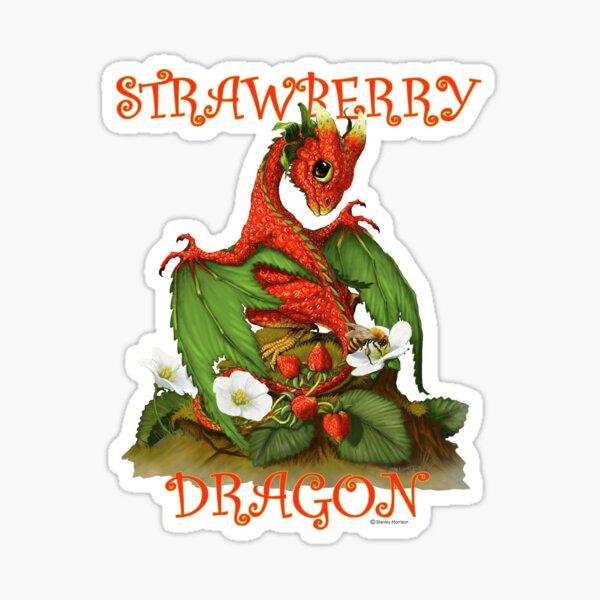 Strawberry Dragon Sticker