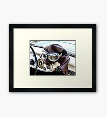 Let's Go For A Ride Darlin' Framed Print