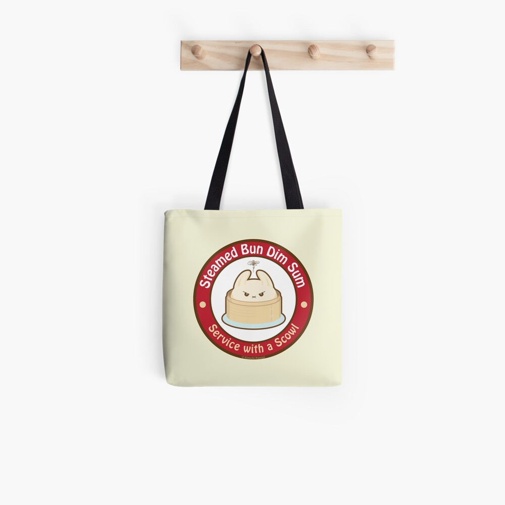 Cute Steamed Bun Dim Sum Tote Bag