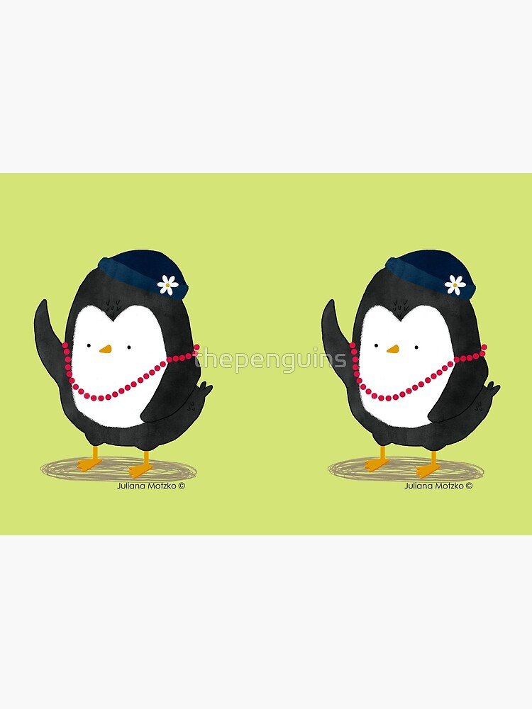 Lady Daisy Penguin by thepenguins