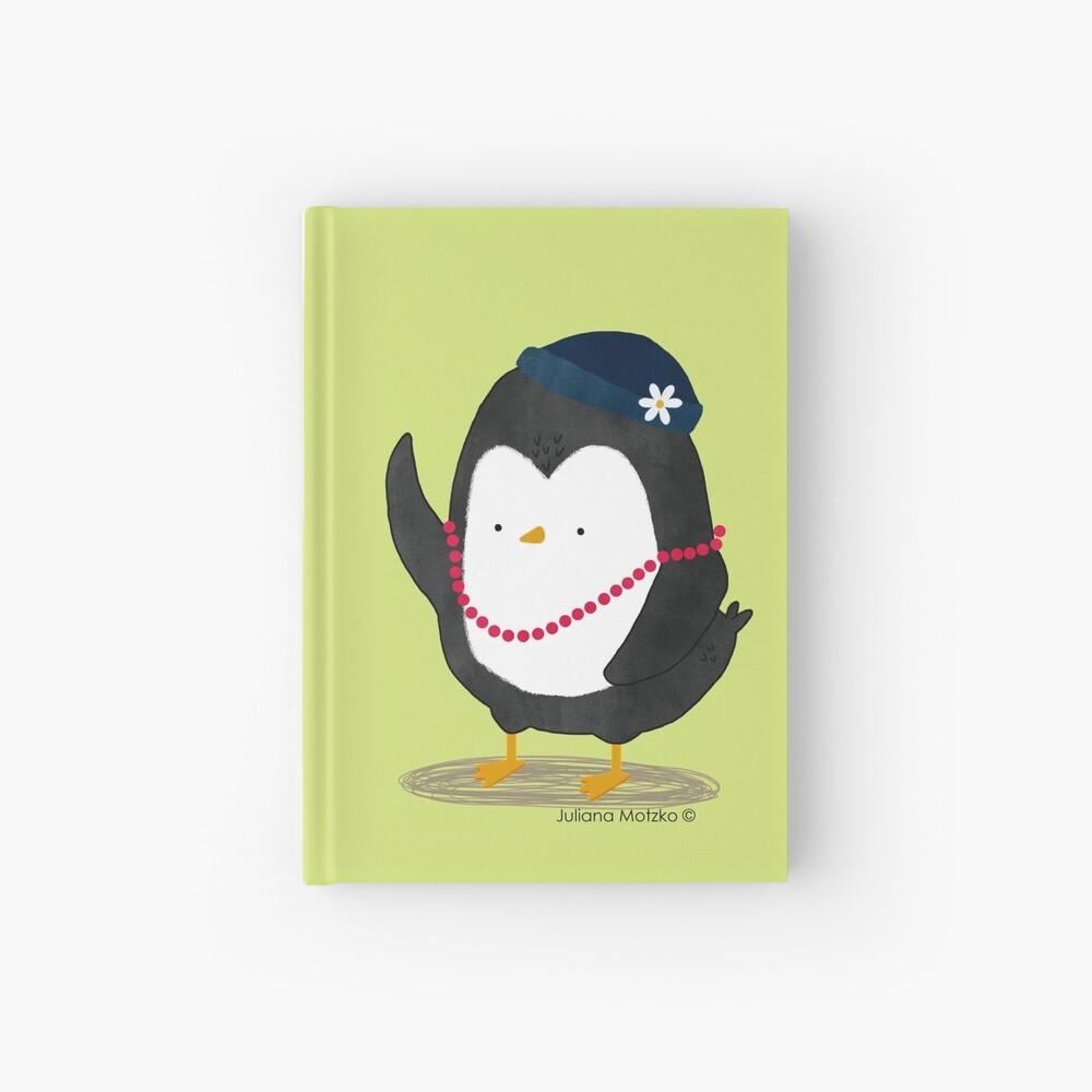 Lady Daisy Penguin Hardcover Journal
