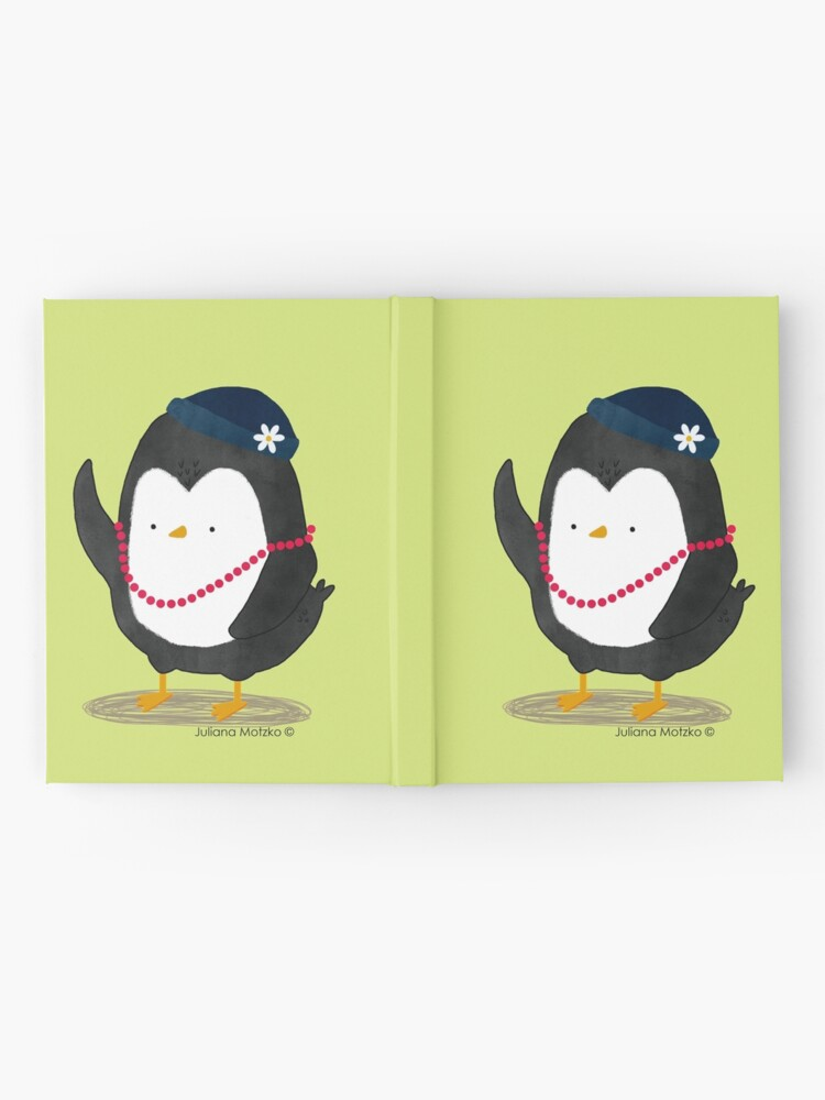 Alternate view of Lady Daisy Penguin Hardcover Journal