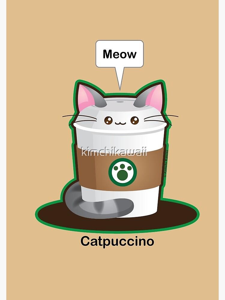 Cute Cat Coffee by kimchikawaii