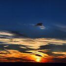 Autumn Sunset - Blackheath Lookout NSW Australia by Bev Woodman
